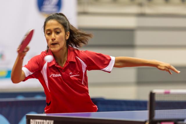 Anisha Iyer ved ungdoms EM 2015